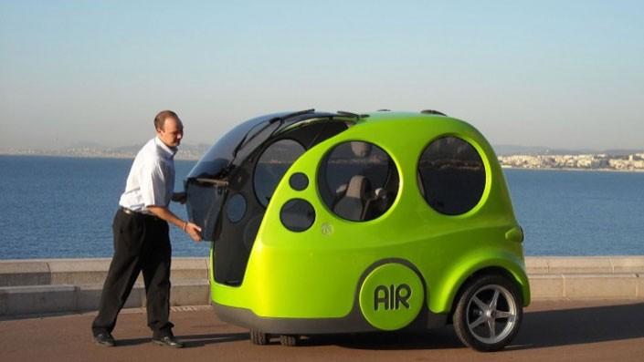 Cosa sono i veicoli ad aria compressa